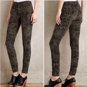 Pilcro and the Letterpress Skinny Corduroy Pants